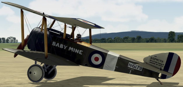 Sopwith Pup (Альфред Уильямс Картер)